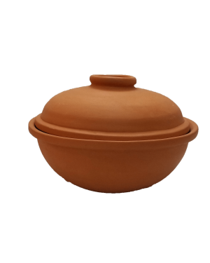 Cooking Bowl with Lid (Medium) - 1