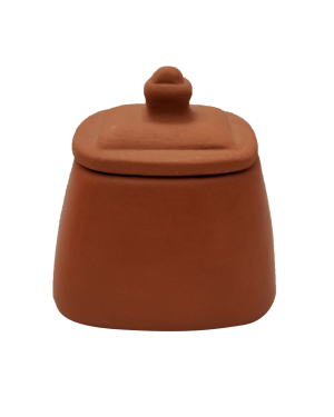 Square Pickle Jar with Lid - 1