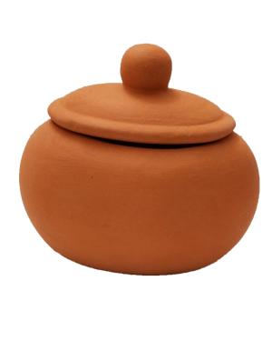 Oval Pickle Jar with Lid - 1