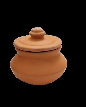 Curd Pot with Lid - Plain - 1