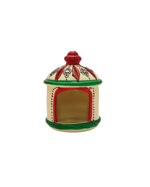 Hut shaped agal to light diyas or candle - 1