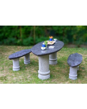 Leaf shaped Garden Table