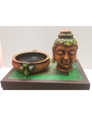 Antique Urli & Buddha Gift Hamper