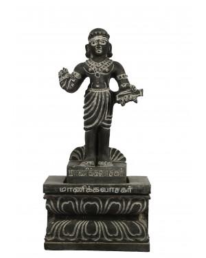 Manickavasagar with Peedam
